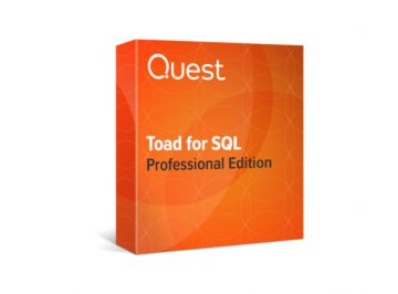 Toad for SQL professional edition