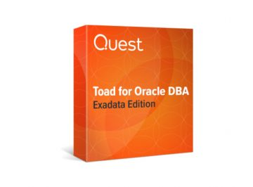Toad for oracle exadata edition