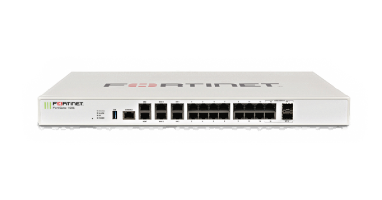 Firewall Fortinet FortiGate 100E Hardware plus 24x7 FortiCare and FortiGuard Unified Threat Protection (UTP)
